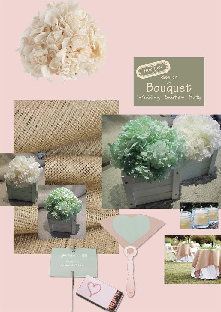 Romantic mint wedding inspiration