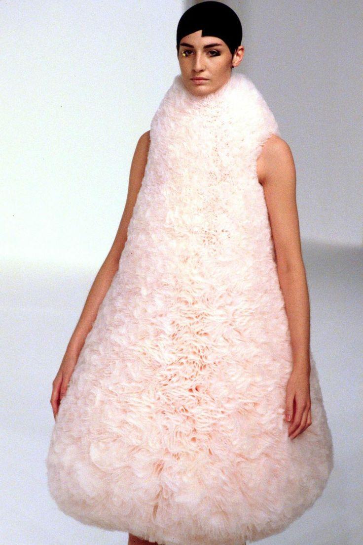 Flak Jacket Xlj >> Soft Sculpture - 3D cone shaped dress with sumptuous pale ...