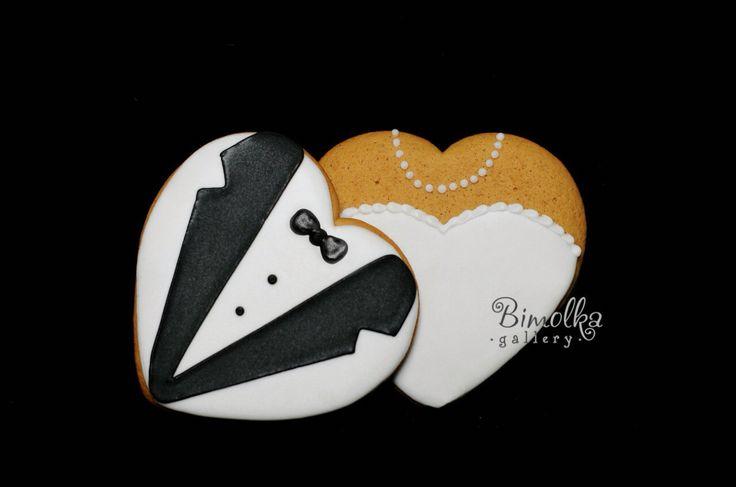 Weddings gingerbread cookies. Thank you gingerbread cookies .