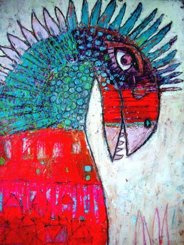 inkandalchemy: Elke Trittle. http://artdelafibrite.canalblog.com/