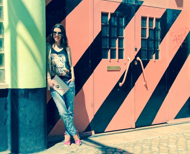 Walls in lisbon