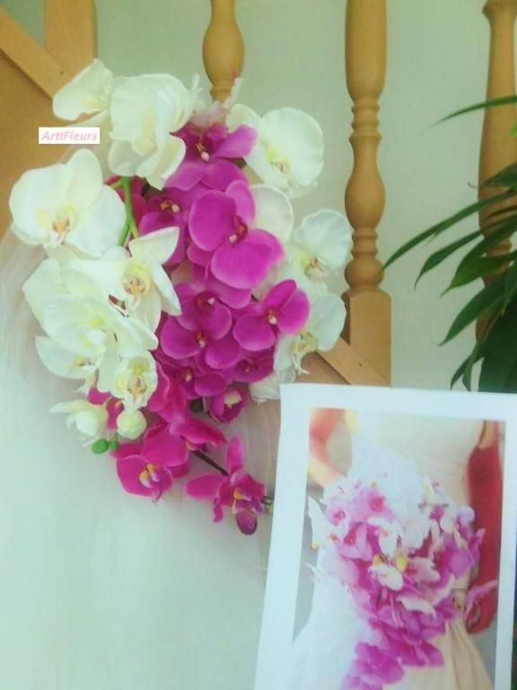 825 best mariage wedding bridal bouquet hair images on pinterest bridal bouquets wedding - Bouquet mariee orchidee ...