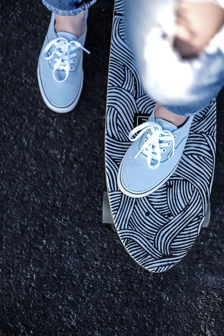 Channel your inner Baby Spice with the Authentic in Baby Blue.