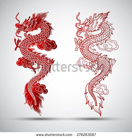 25 best ideas about chinese dragon tattoos on pinterest dragon thigh tattoo dragon tattoo. Black Bedroom Furniture Sets. Home Design Ideas