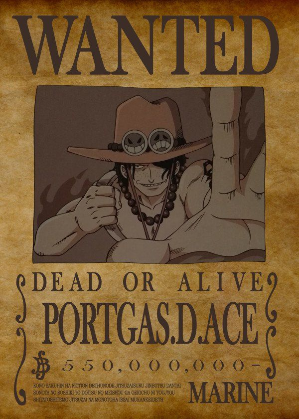 One Piece Luffy Ace /& Sabo Wanted Posters HIGH QUALITY Anime Manga Bounty