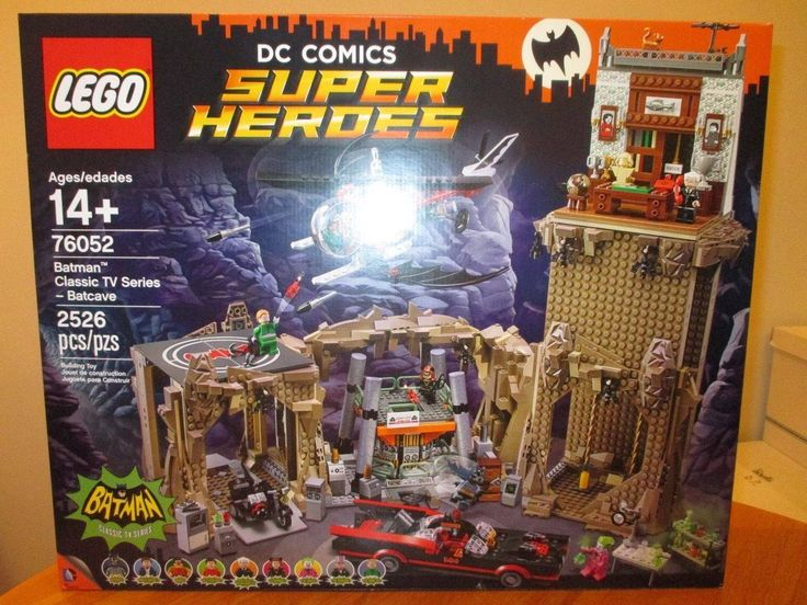 cool LEGO DC Comics Tremendous Heroes Batman Traditional TV Collection Batcave Set 76052 New Check more at https://aeoffers.com/product/baby-toys-and-games-clothing-shoes/lego-dc-comics-tremendous-heroes-batman-traditional-tv-collection-batcave-set-76052-new/