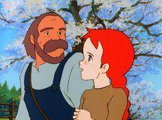 """赤毛のアン ・ """"Anne of Green Gables"""" ・ 1979 ・ Aired on Fuji TV's """"World Masterpiece Theater"""" from January 1979 to December 1979 by Nippon Animation ・ (Adapted from the same name novel by Lucy Maud Montgomery.)"""