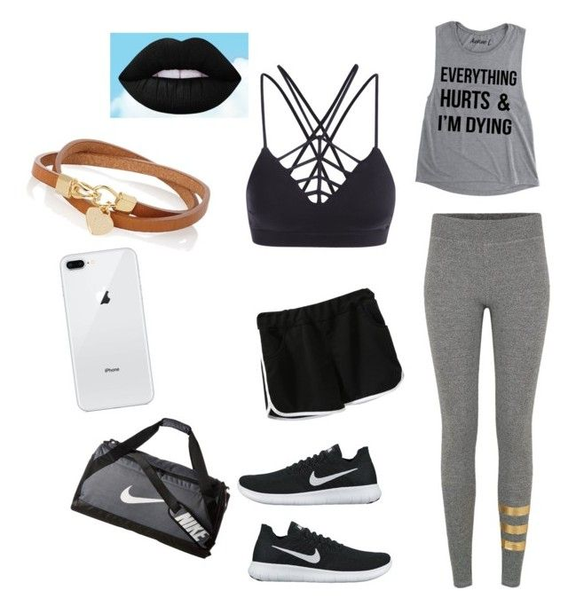 """""""workout clothes"""" by niasharp on Polyvore featuring Sundry and NIKE"""