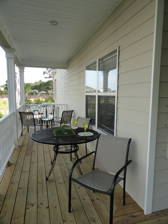 Backyard Porch Panama City Beach : plan patio at Santa Rosa Golf Villas community in Santa Rosa Beach