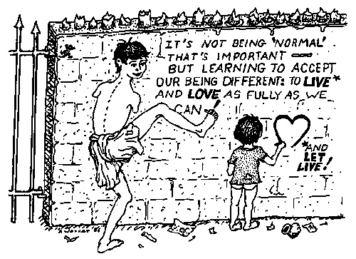 A cartoon against the tyranny of Normalization