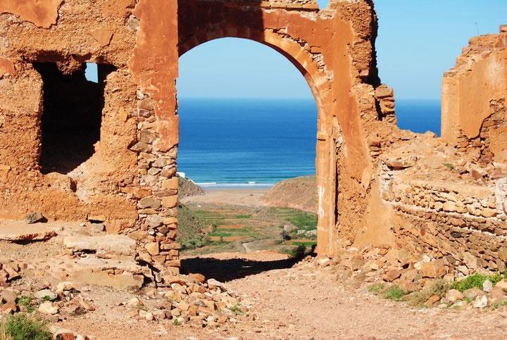 the door to the beach