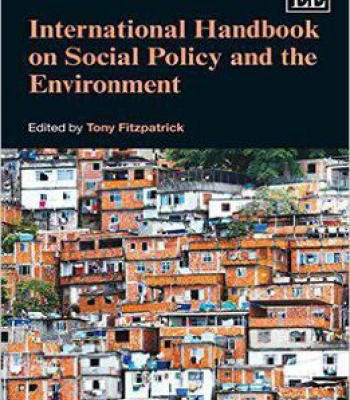 International Handbook On Social Policy And The Environment PDF