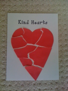 Kind Hearts - Love this activity, and the poster can be a great reminder all year why students should kind to each other.