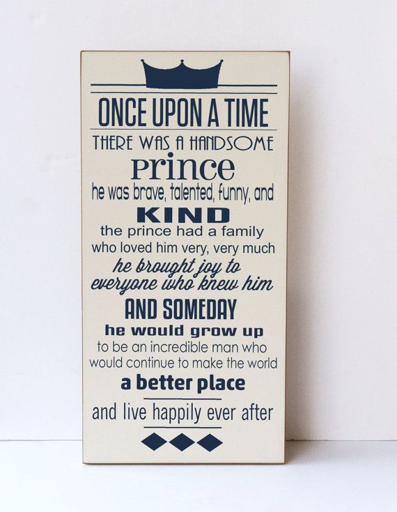 "Every story adventure starts with ""Once Upon A Time""...only seems appropriate to hang this awesome sign right inside the door!"