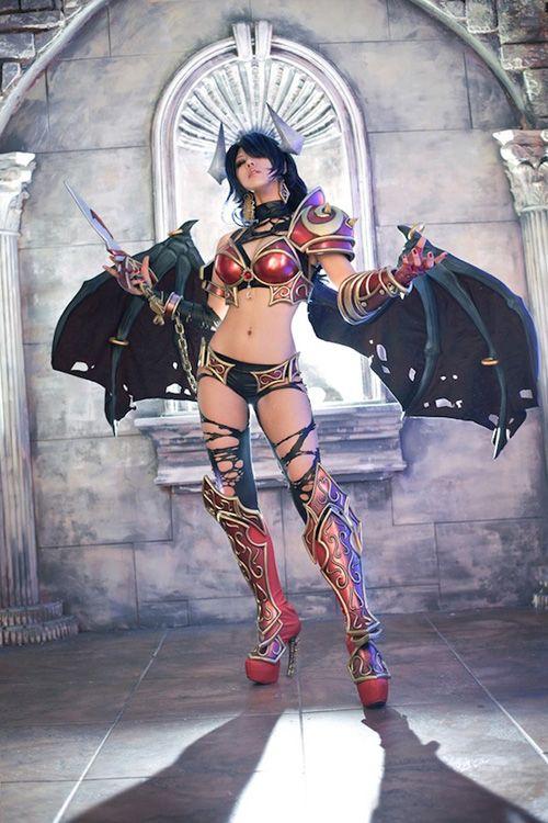 DOTA 2 Queen Of Pain Cosplay #dota2 #cosplay