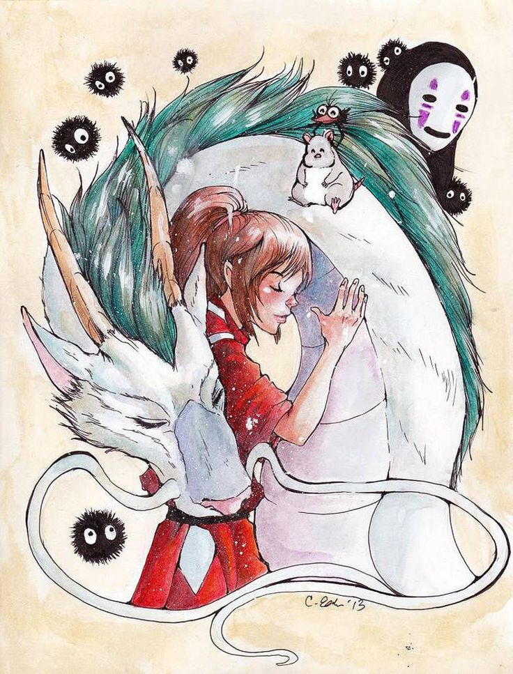 Spirited Away by AndroidBones on DeviantArt Supply by