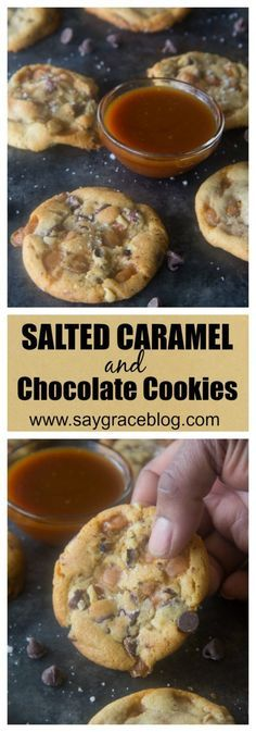 Salted Caramel bits and Ghirardelli chocolate baked to perfection will quickly become a cookie jar favorite!!