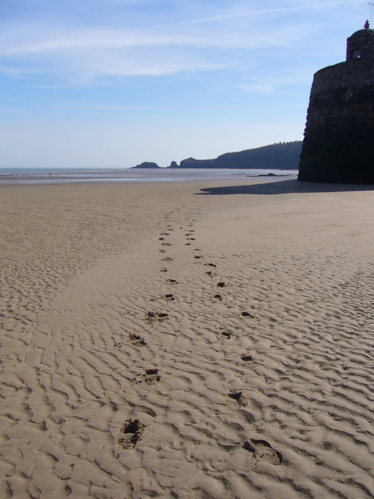 No 11  Best Welsh Beach, Wales on Line.  Saundersfoot beach, Pembrokeshire.  Dog restrictions apply 1st April/30th September.  However enjoining beach Amroth welcomes dogs all year round!