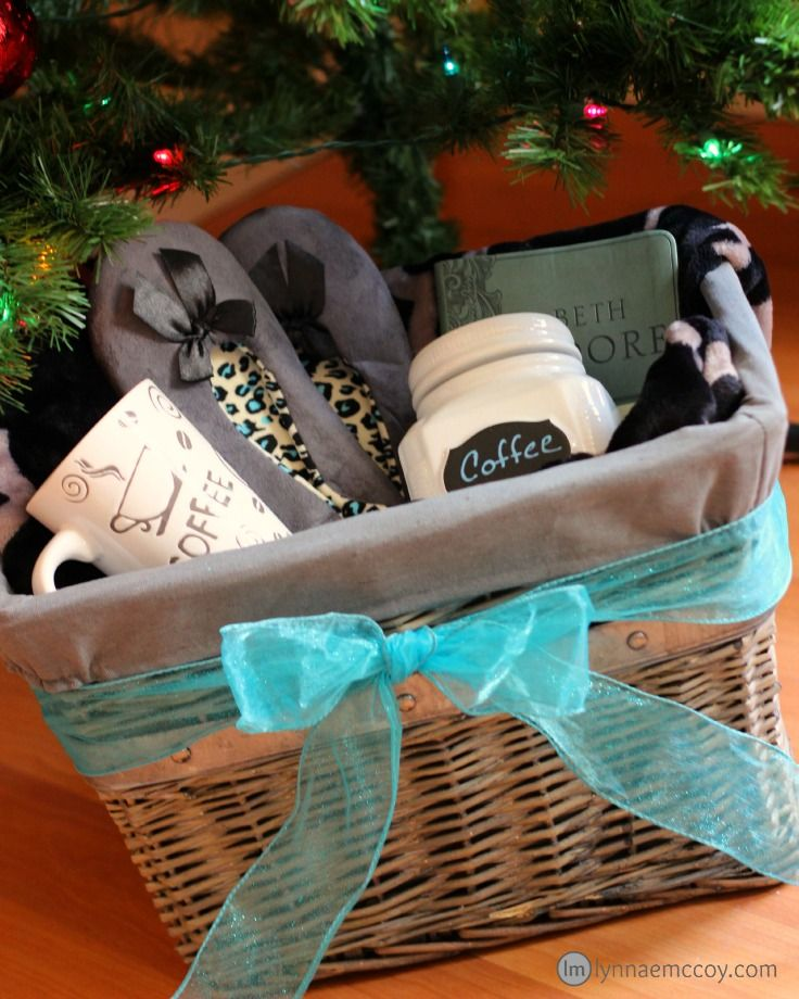 +10 Tweet3 Share4 Pin304 Share0I love giving gift baskets at Christmas. It's so easy to personalize a gift basket to the person who will be receiving the gift. I have many women in my life who enjoy morning quiet times. If you're one of them, you may want to show this post to your husband! …