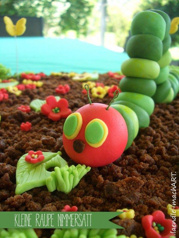 Kleine Raupe Nimmersatt | Große Torte für kleine Menschen