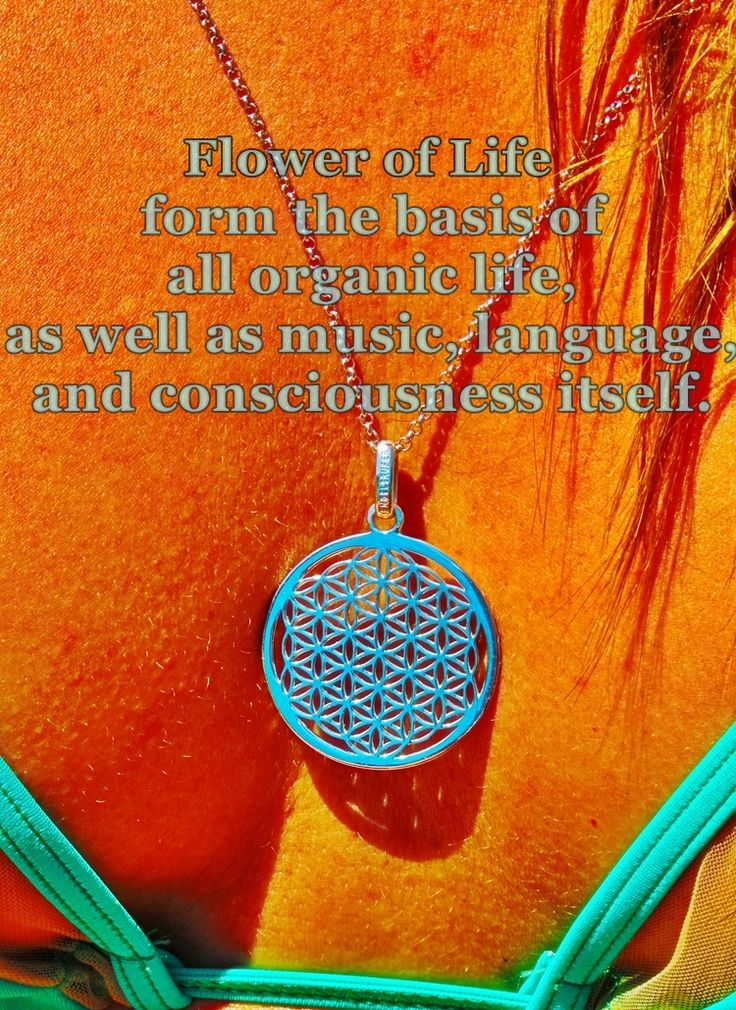 The love of life and nature inspired this Aistikas composition!The 'flower of life' pendant is available at ...