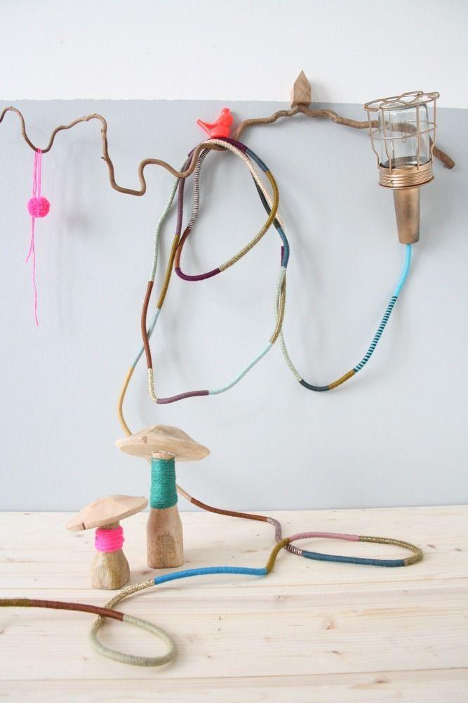 Trendy lampe baladeuse bohme wool pendant light wire cage uac by les petits bohemes with lit - Plan a langer vertbaudet ...