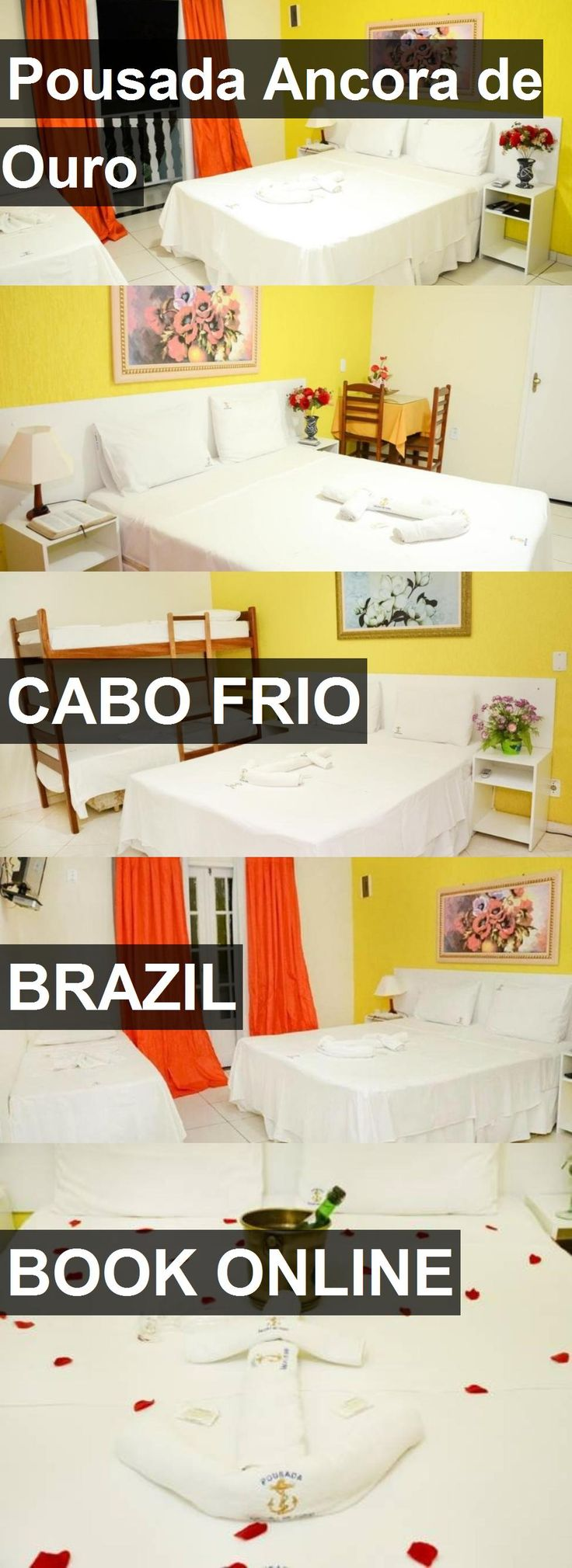 Hotel Pousada Ancora de Ouro in Cabo Frio, Brazil. For more information, photos, reviews and best prices please follow the link. #Brazil #CaboFrio #hotel #travel #vacation