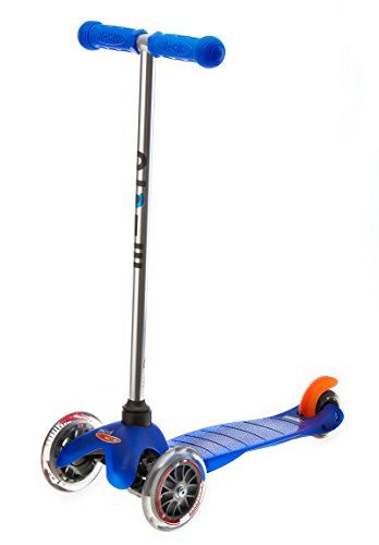 Mini Micro scooter Childrens scooter with T-bar handle - Blue Micro Scooters http://www.amazon.co.uk/dp/B000ES178C/ref=cm_sw_r_pi_dp_O4pswb1GZKVHC