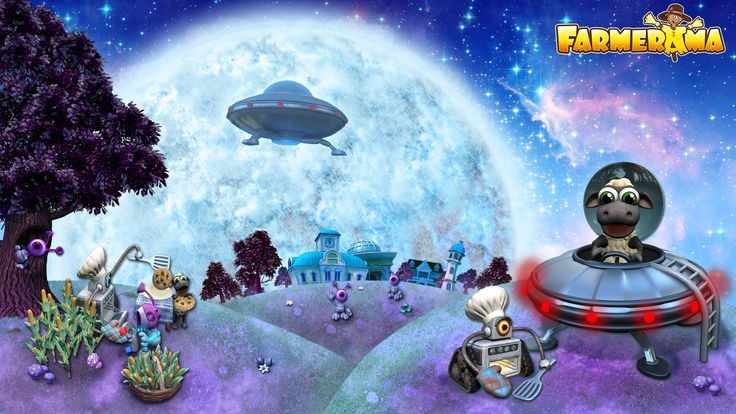 Beep beep...our satellites intercepted a radio signal...from Planet Nublon 5...their UFOs are on their way to Earth!