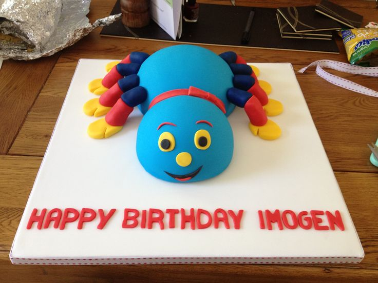 Woolly And Tig Birthday Cake