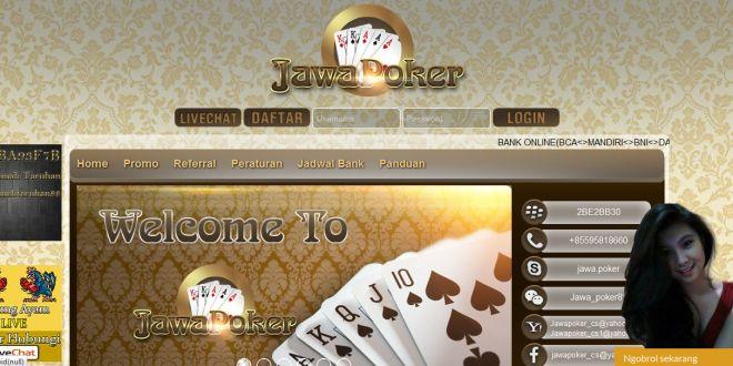 JAWAPOKER, Daftar Poker Online Indonesia