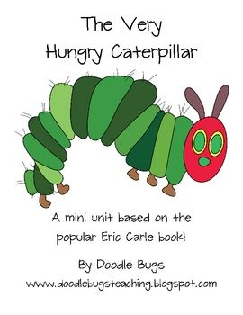 Eric Carle is a favorite author and always a class favorite. Here is a mini unit based on his popular book.  Have fun using these activites with yo...