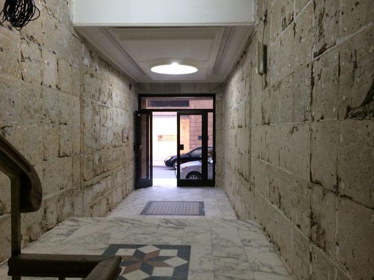 Tiled concrete