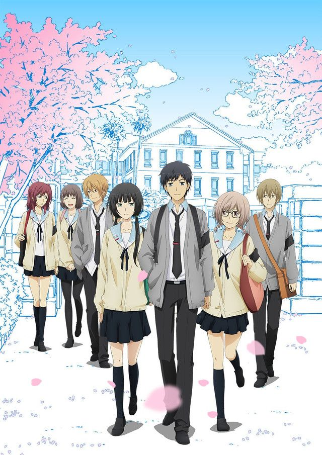 """Crunchyroll - """"ReLIFE"""" Anime Featured In New Preview And Visual"""