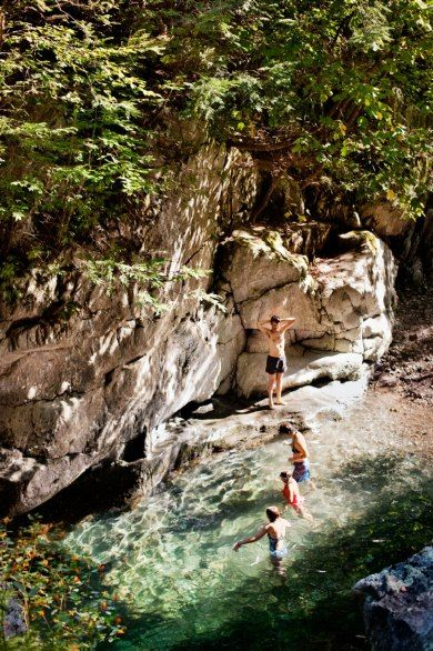 Condé Nast Traveler | Bash Bish Falls State Park, Mt. Washington, MA | Home to the area's highest single-drop waterfall and a short drive from Great Barrington
