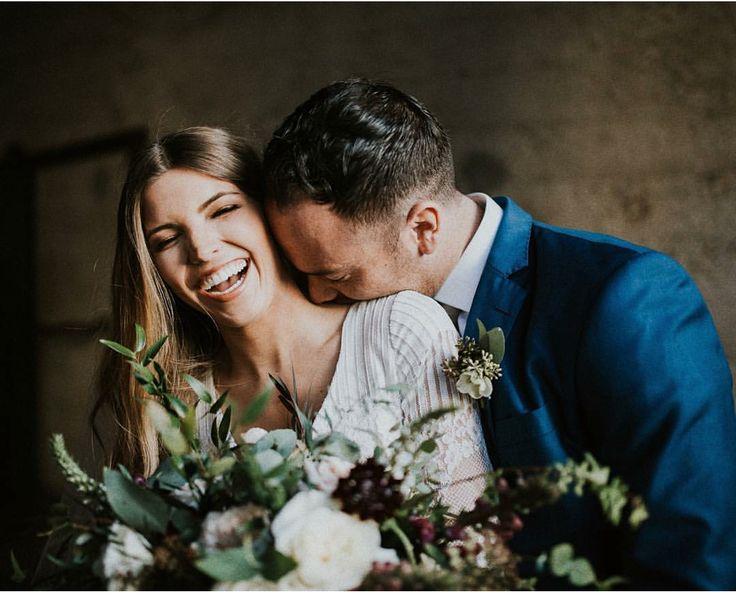 wedding intimate portrait bridal couple