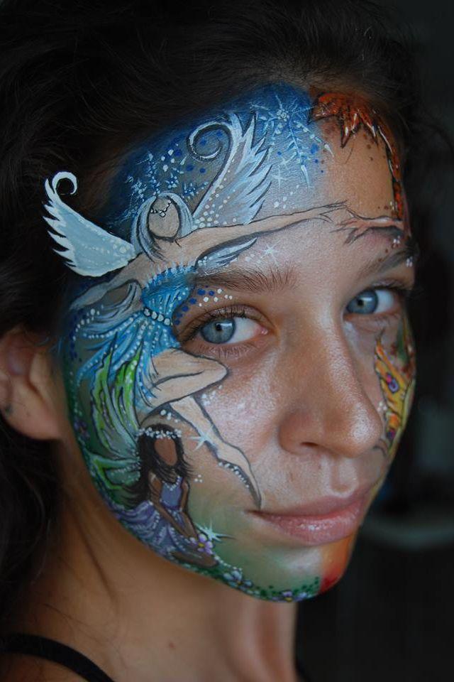 Jasmin Walch fairy face paint design | Face Painting ...