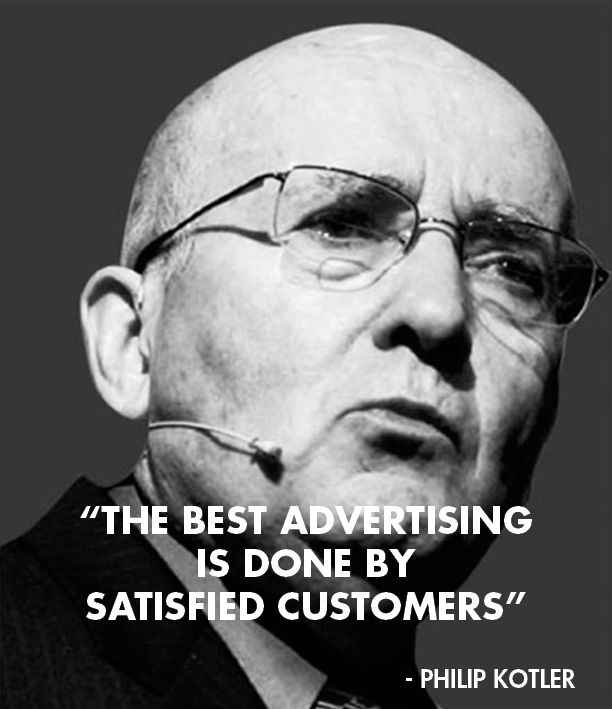 Philip Kotler quote about advertising
