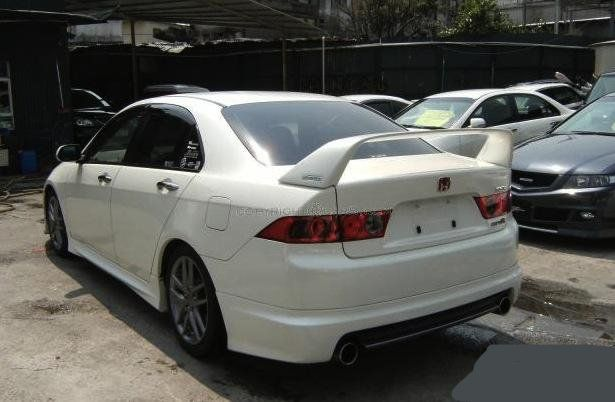 Favorite Trunk Lip Spoiler Acura Tsx Club Acura Tsx
