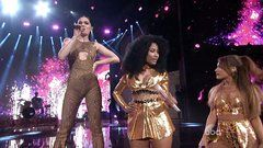 "Jessie J, Ariana Grande, and Nicki Minaj Go ""Bang Bang"""