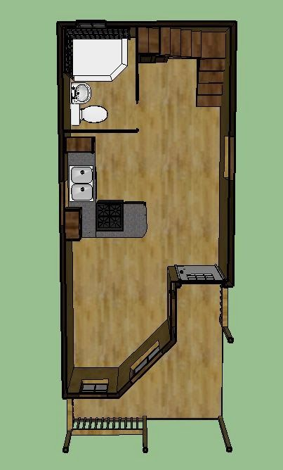 8 best cabin images on pinterest cottage lofted barn for Lofted barn cabin plans