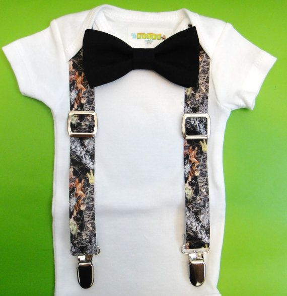 Baby Boy Clothes Baby Real Tree Camouflage Suspenders