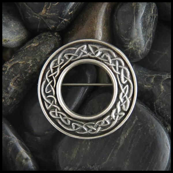Mary's Brooch -- perfect for pinning on your tartan sash at your Scottish wedding