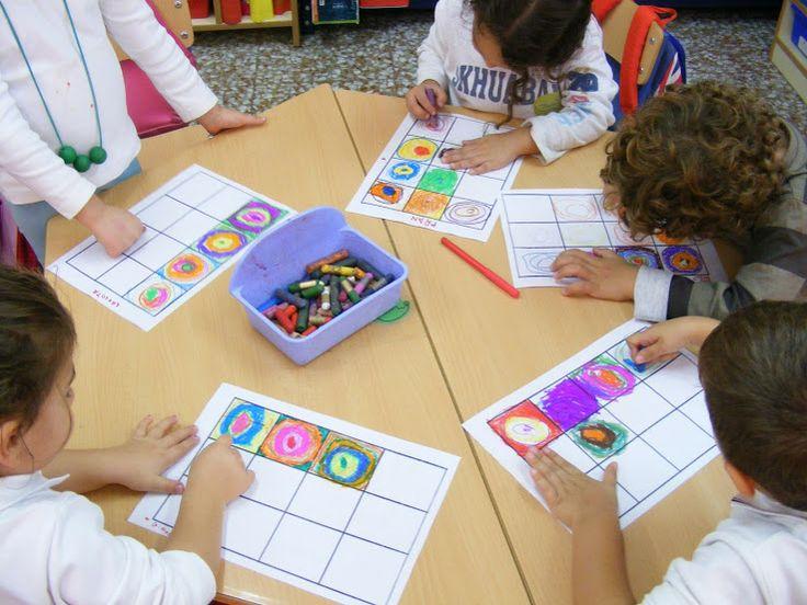 Geometría y arte - Aprendiendo matemáticas, KANDISKY