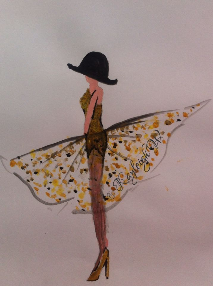 Fashion illustration © Kayleigh W