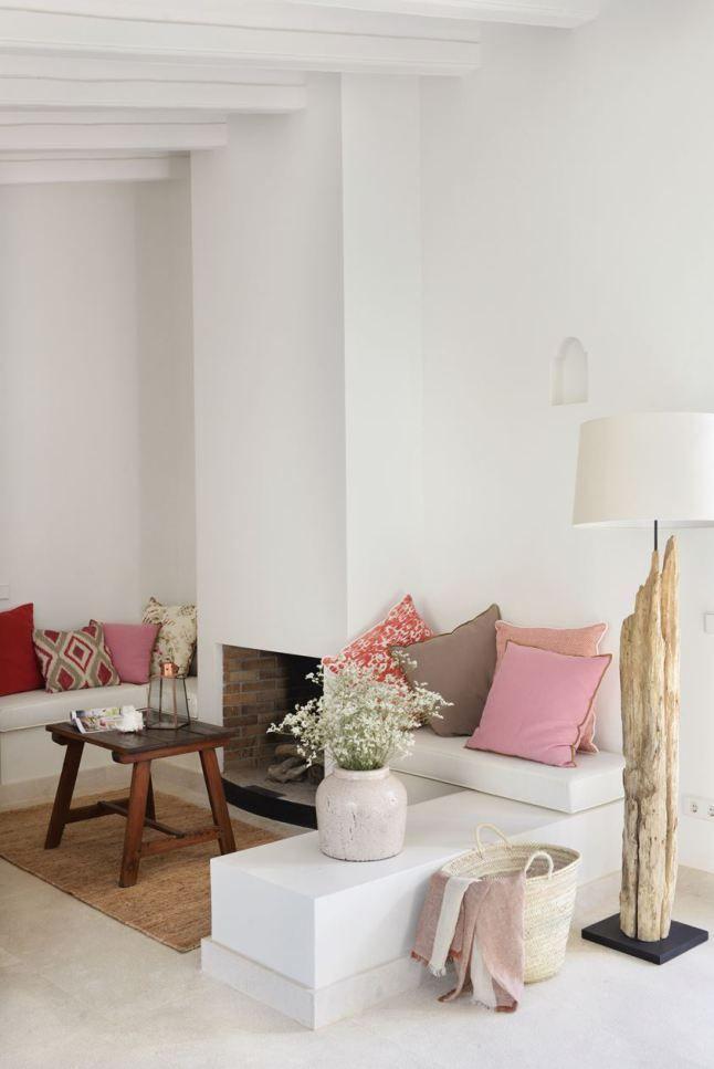 Elegancia y respeto a la estructura original en este hotel de Mallorca.
