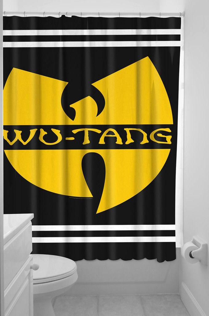 Inked Boutique - Wu Tang Shower Curtain Hip Hop Rap Wu Tang Clan http://www.inkedboutique.com
