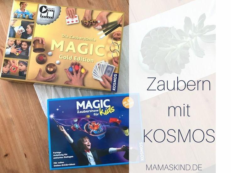 Ich stelle zwei Zauberkästen von KOSMOS vor: Die Zaubershow (ab 5 Jahren) und Die Zauberschule Gold Edition (ab 6 Jahren). Sehr cool für Zauberlehrlinge!
