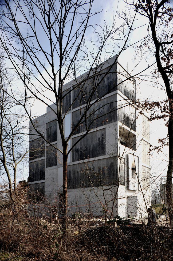 Brandhaus II, Ausbildungszentrum Rohwiesen,  Staufer & Hasler Architekten AG