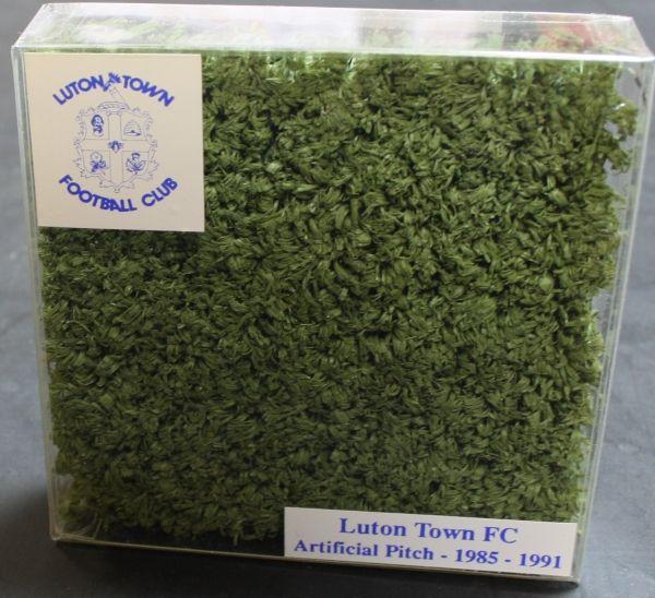 Luton Town FC 1985-91 astroturf